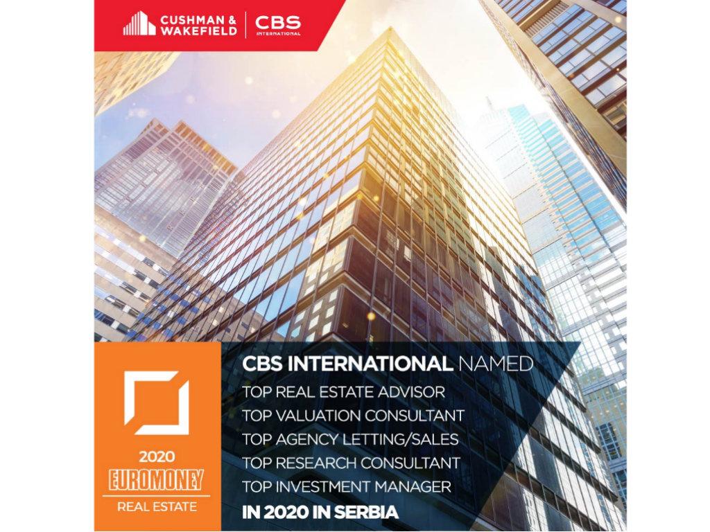 CBS International i Cushman&Wakefield lideri na regionalnom i globalnom tržištu nekretnina