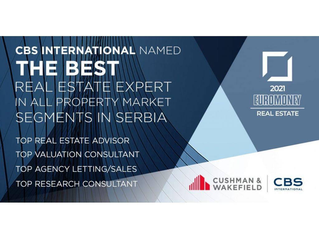 CBS International lider na srpskom i hrvatskom tržištu nekretnina