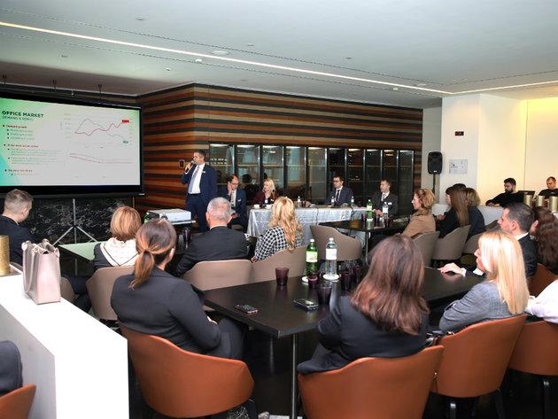 Kompanija CBS International prezentovala tržište nekretnina bankarskom sektoru - Strani investitori zainteresovaniji za našu zemlju