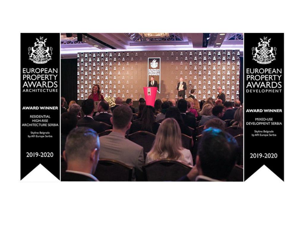 International Property Awards u Londonu nagradio AFI Europe Serbia za projekte Skyline Belgrade i Airport City