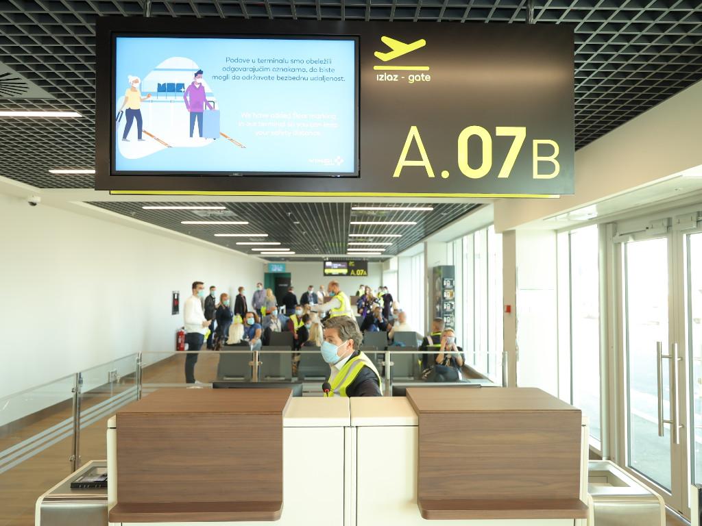 Nova infrastruktura Aerodroma Nikola Tesla Beograd prošla najstrože testove