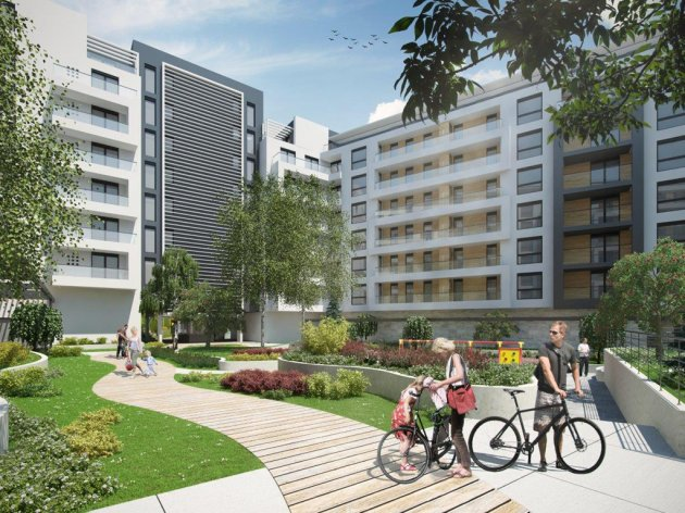 Buduća prestonička oaza - Central Garden, trebalo bi da bude kompletno završen do kraja 2018. godine