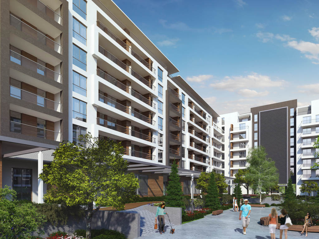 500 new flats between Tasmajdan and Botanical garden underway - The Israeli are building residential complex in Belgrade city center totalling more than EUR 120 m (PHOTO)