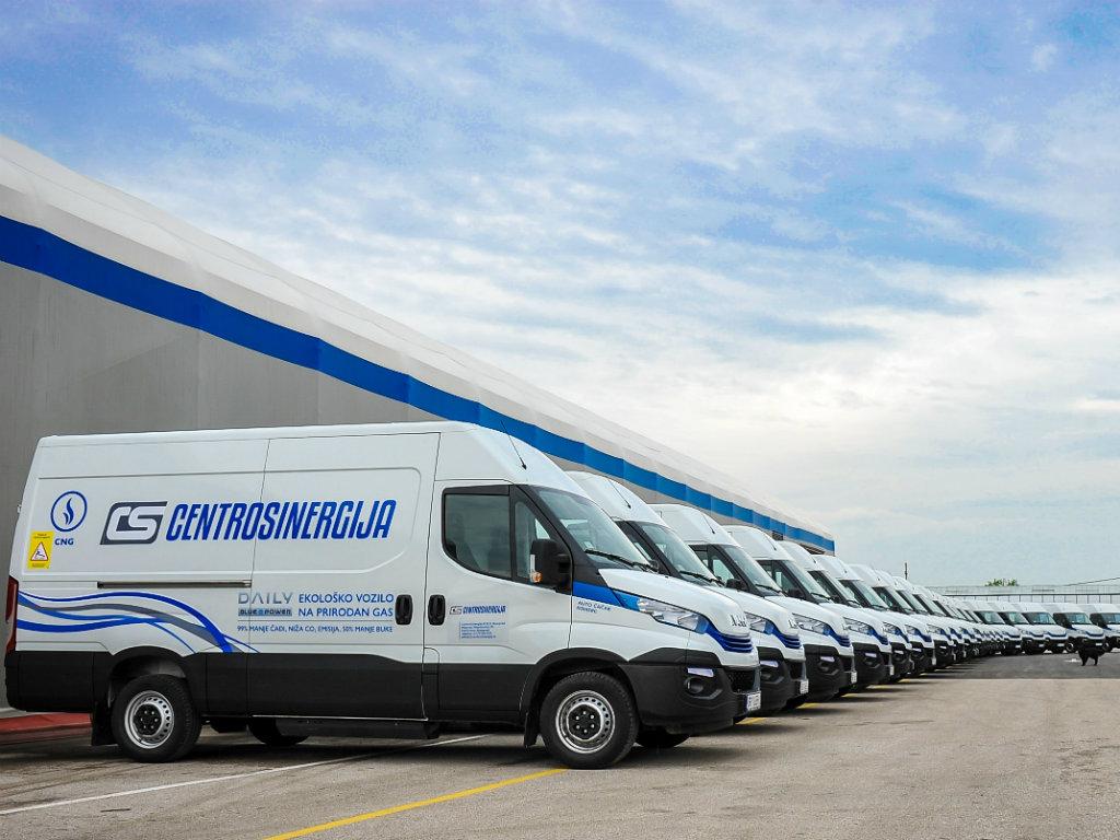 Centrosinergija investirala u IVECO ekološka vozila u cilju odgovornog poslovanja