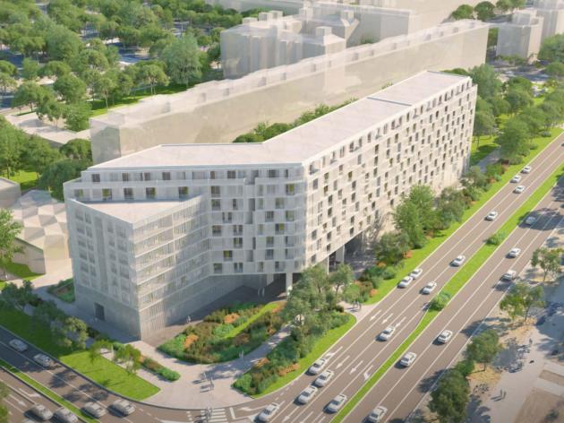 Nove zgrade kod Starog Merkatora - Na uglu Goce Delčeva i Mihajla Pupina gradiće se devetospratnice (FOTO)