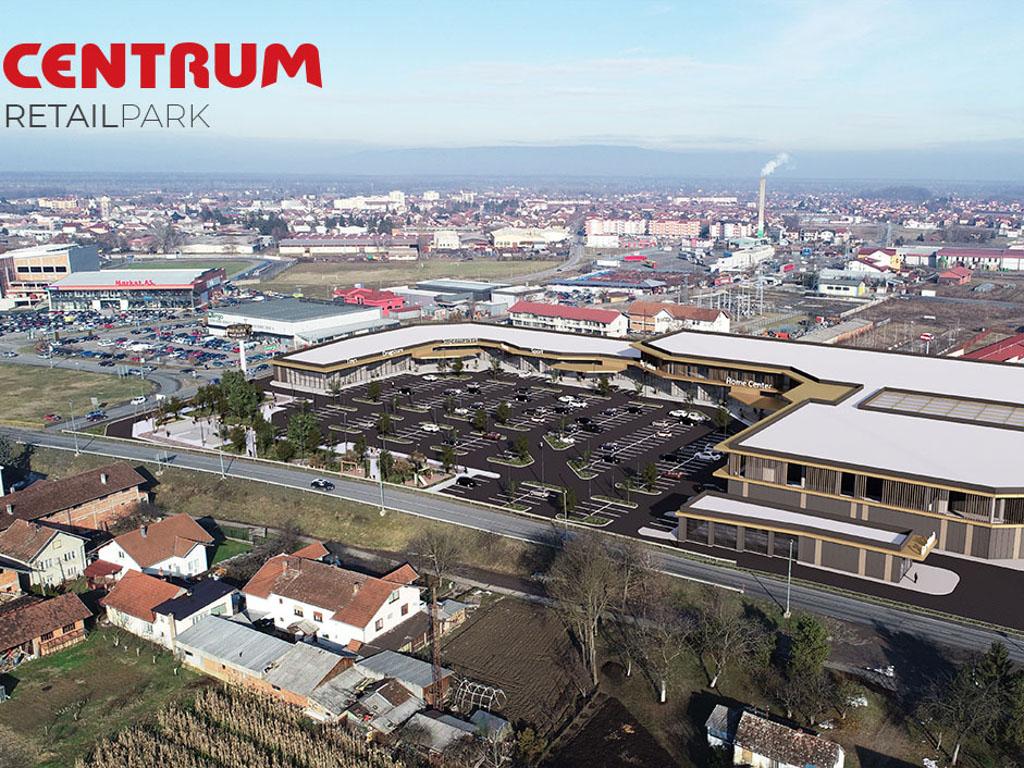 Šoping na 18.000 kvadrata u Gradišci - Centrum Retail Park otvara vrata na jesen 2021.
