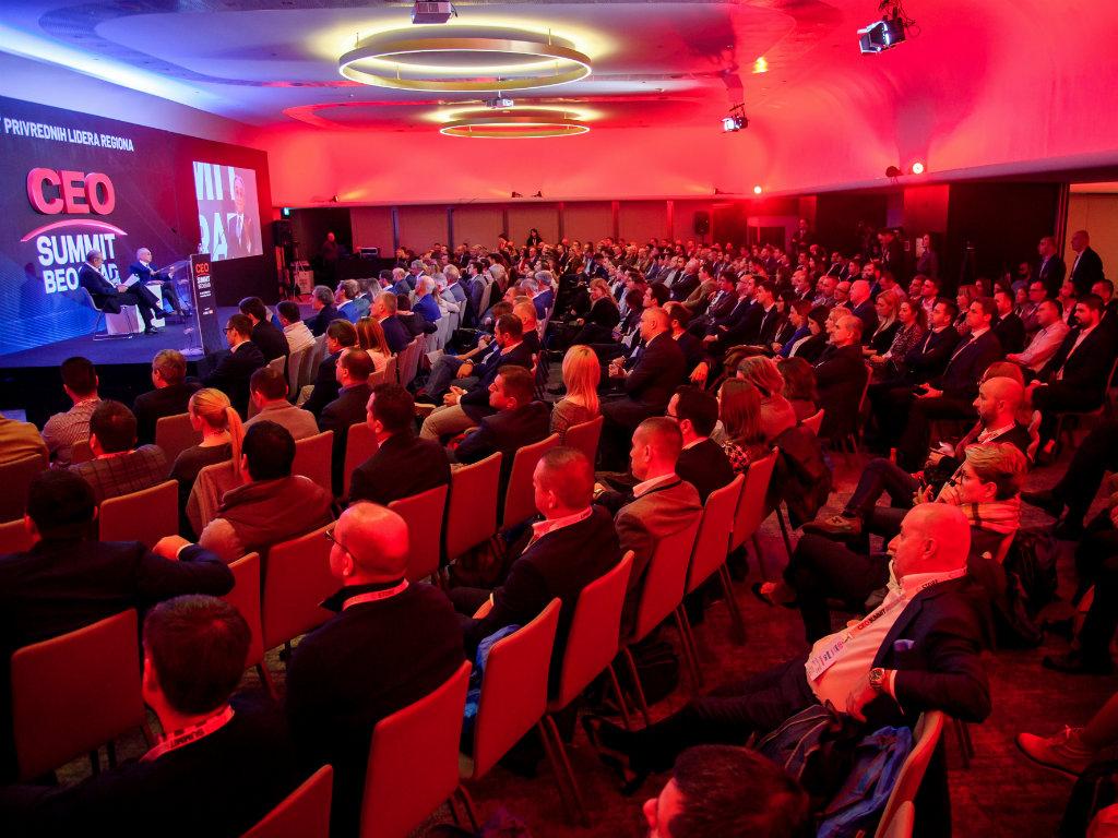 CEO Summit okupio više od 400 privrednika iz celog regiona