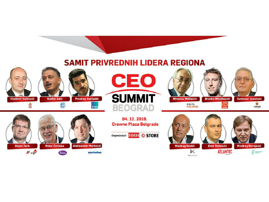 Biznis elita i predstavnici međunarodnih institucija pod jednim krovom 4. decembra u Beogradu