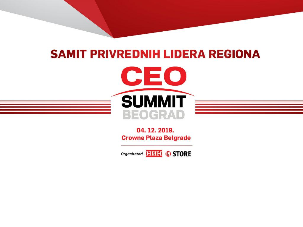 CEO Summit 4. decembra u Beogradu - Na okupu poslovna elita regiona