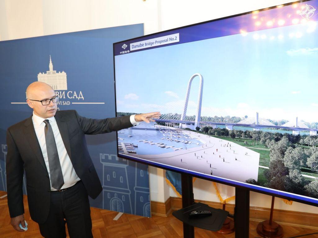 Predstavljena idejna rešenja za gradnju četvrtog mosta u Novom Sadu