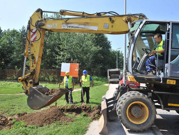 Baubeginn für Wasserversorgungsnetz in Obrenovac