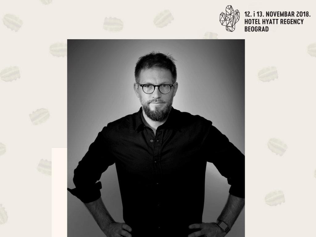 Chad Warner, Integrated Creative Director McCann London - Potrošači definišu kako ćemo razgovarati sa njima, a da oni čak ni ne znaju