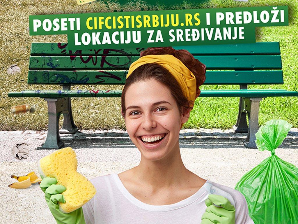"""Unilever nastavlja akciju """"CIF čisti Srbiju"""""""
