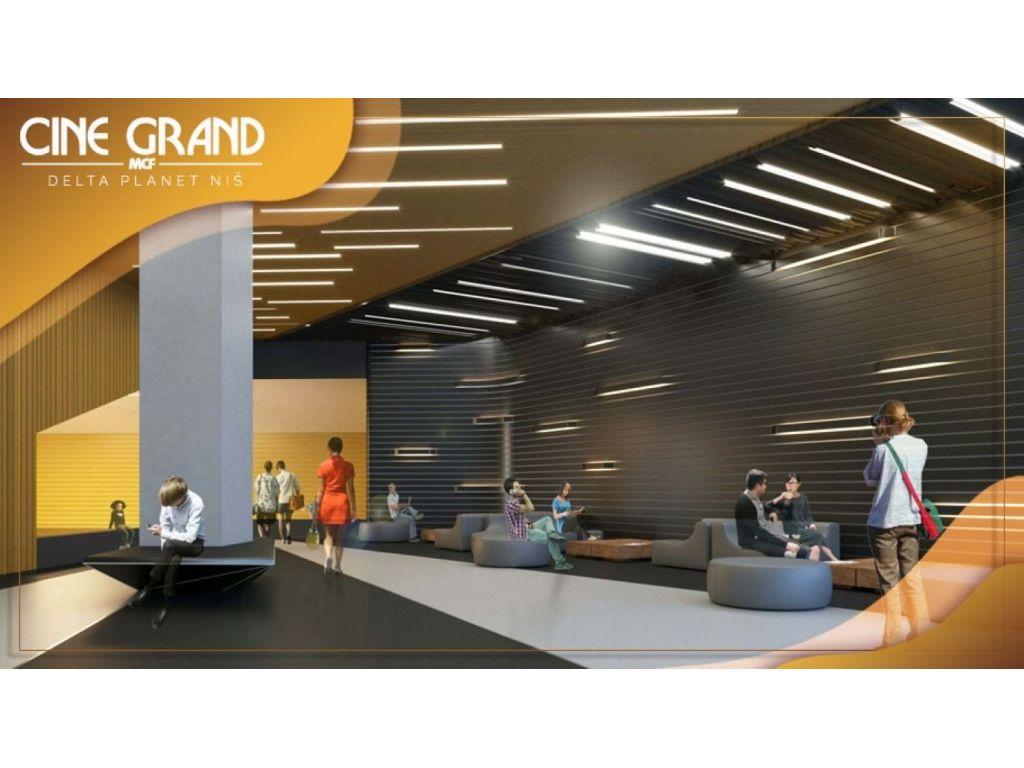 Bioskop Cine Grand Delta Planet Niš biće otvoren 22. aprila