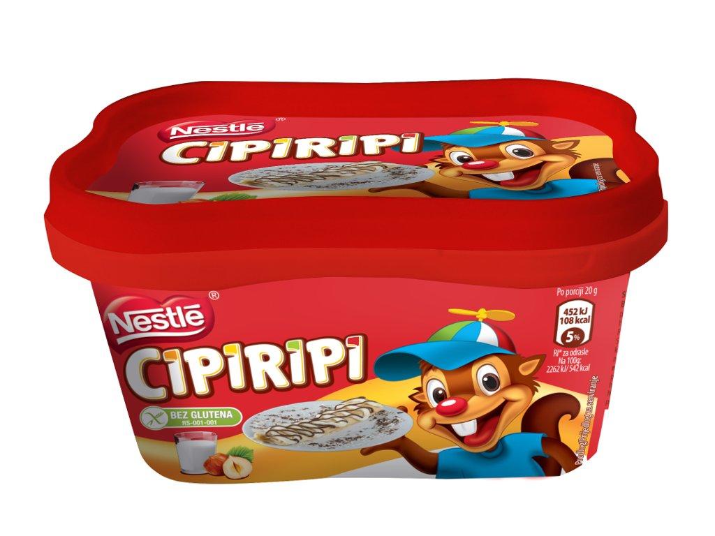 Nestle se okreće korišćenju zdravijih sastojaka u proizvodnji - Cipiripi prodat iz strateških razloga