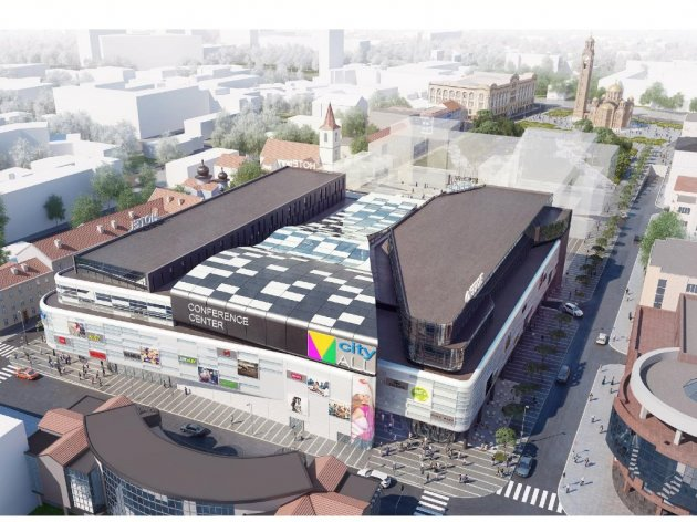 "Budući izgled ""City Mall""-a"