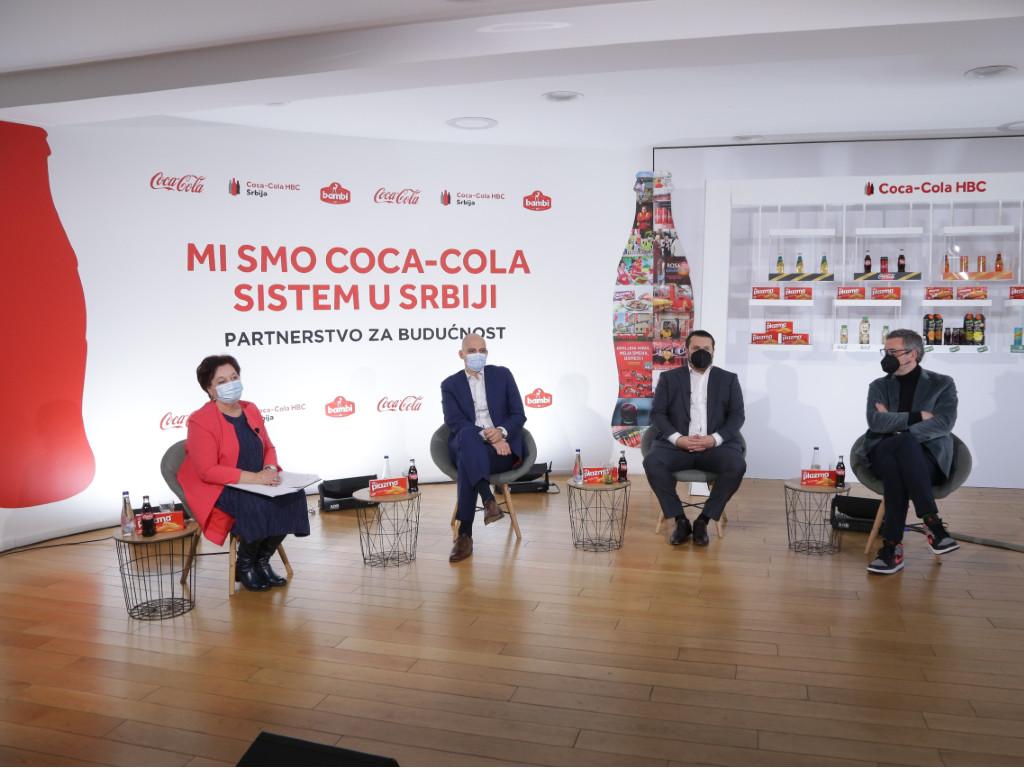 Domaćoj ekonomiji 291 mil EUR dodate vrednosti od poslovanja Coca-Cola sistema