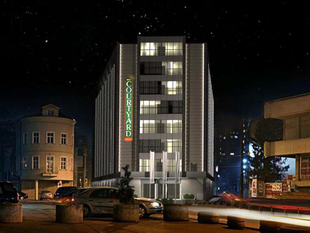 """Kako će izgledati hotel """"Courtyard by Marriott"""" - Skenderija u maju 2015. dobija luksuzni hotel vrijedan 10 mil EUR (FOTO)"""