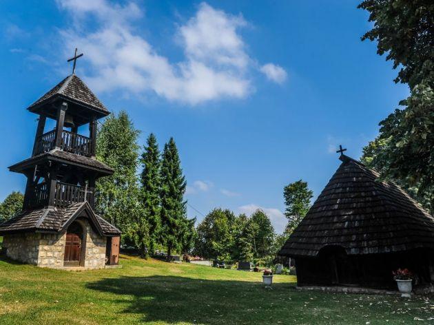 Stara crkva, brvnara iz XVIII vijeka
