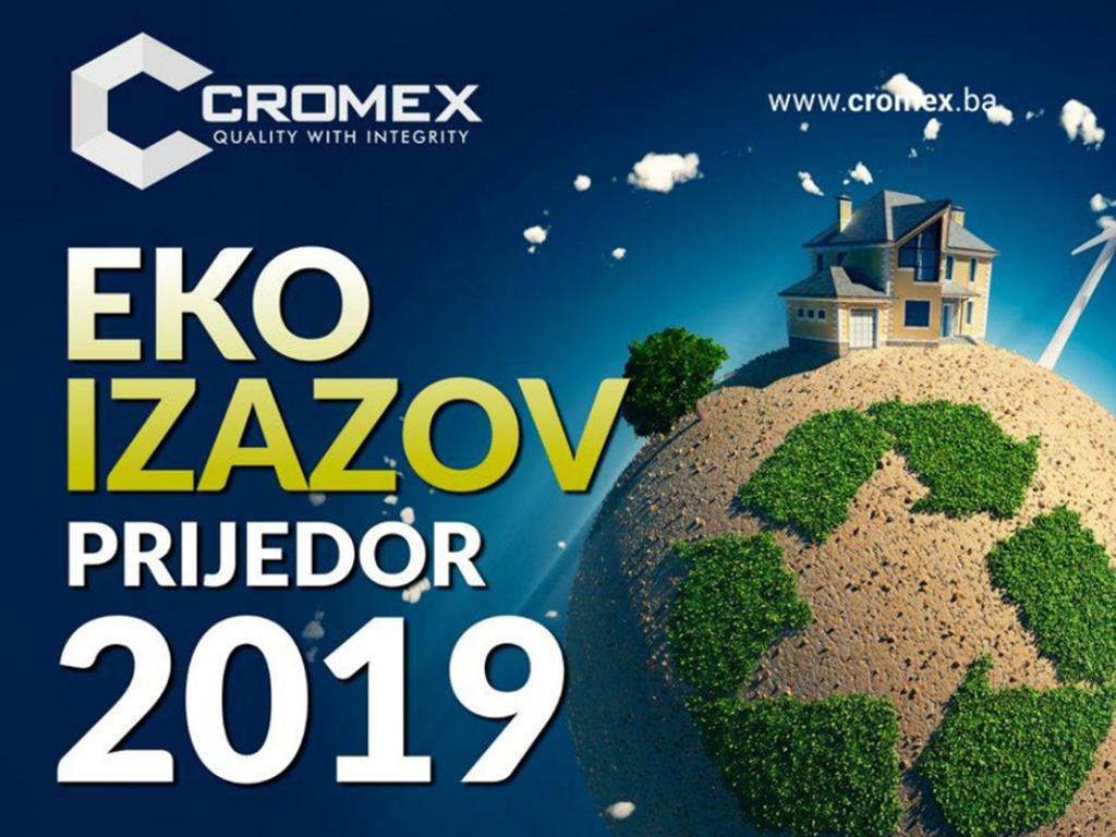 Cromex pokrenuo akciju Eko izazov za čistiji Prijedor
