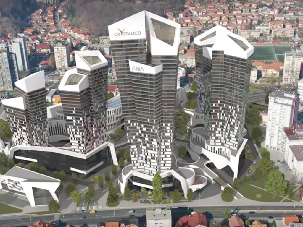 Odobrena gradnja stambeno-poslovnog kompleksa Crystalico u Tuzli - Radovi vrijedni milijardu maraka mogli bi početi tokom 2019.