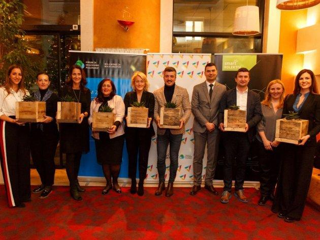 Dobitnici nagrada za korporativno volontiranje