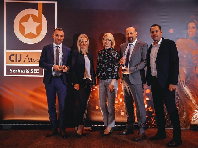 From the CIJ Awards Serbia & SEE 2018 ceremony