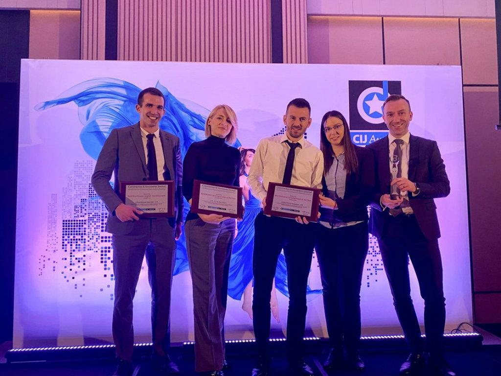 """Priznanja za kompaniju CTP Invest na dodeli """"CIJ Awards Serbia and SEE"""""""