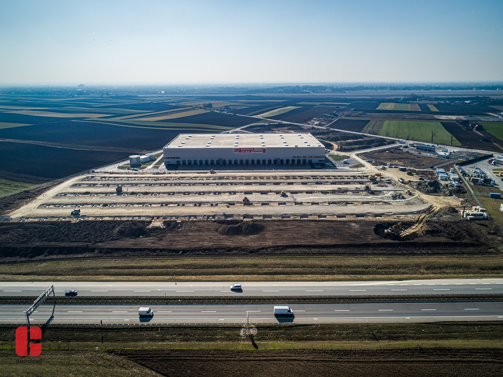 CTP Invest nastavlja da širi najveći industrijski park u Srbiji CTP Beograd Sever - Započeli gradnju trećeg objekta NBC1 od 30.000 m2