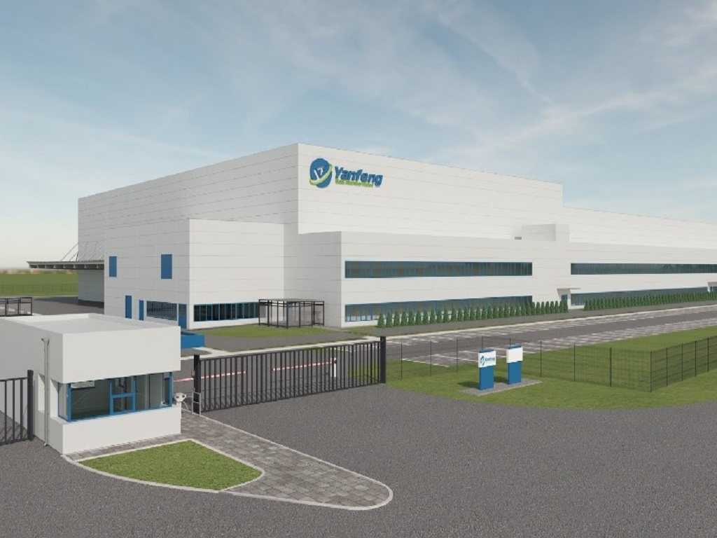 The future look of the KRG2 facility, which CTP is building for Yanfeng Seating