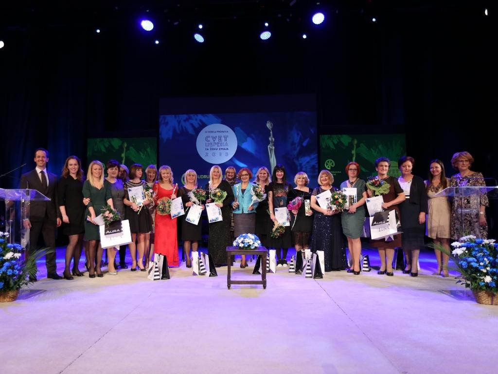 Upoznajte ovogodišnje kandidatkinje za priznanje Cvet uspeha za ženu zmaja - Dodela nagrada Udruženja poslovnih žena 27. oktobra