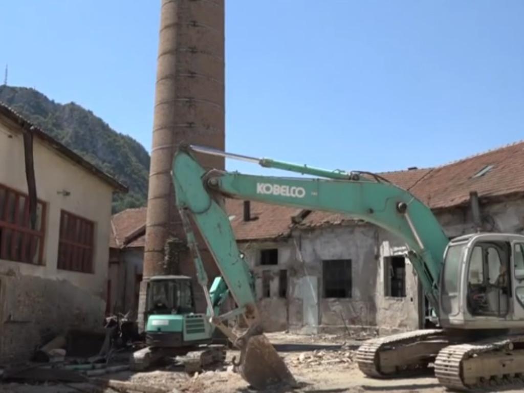 Ruši se užički simbol industrijalizacije - Na mestu nekadašnje tekstilne fabrike Cveta Dabić nići će novi poslovno-stambeni kompleks