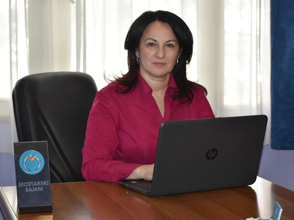 Dalfina Bošnjak, direktorica Mostarskog sajma - Život je dvosmjerna ulica