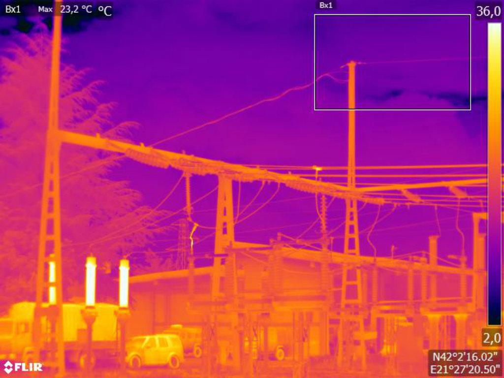 Kompanija Damiba nudi usluge termovizijskog i termografskog snimanja sa kopna i iz vazduha