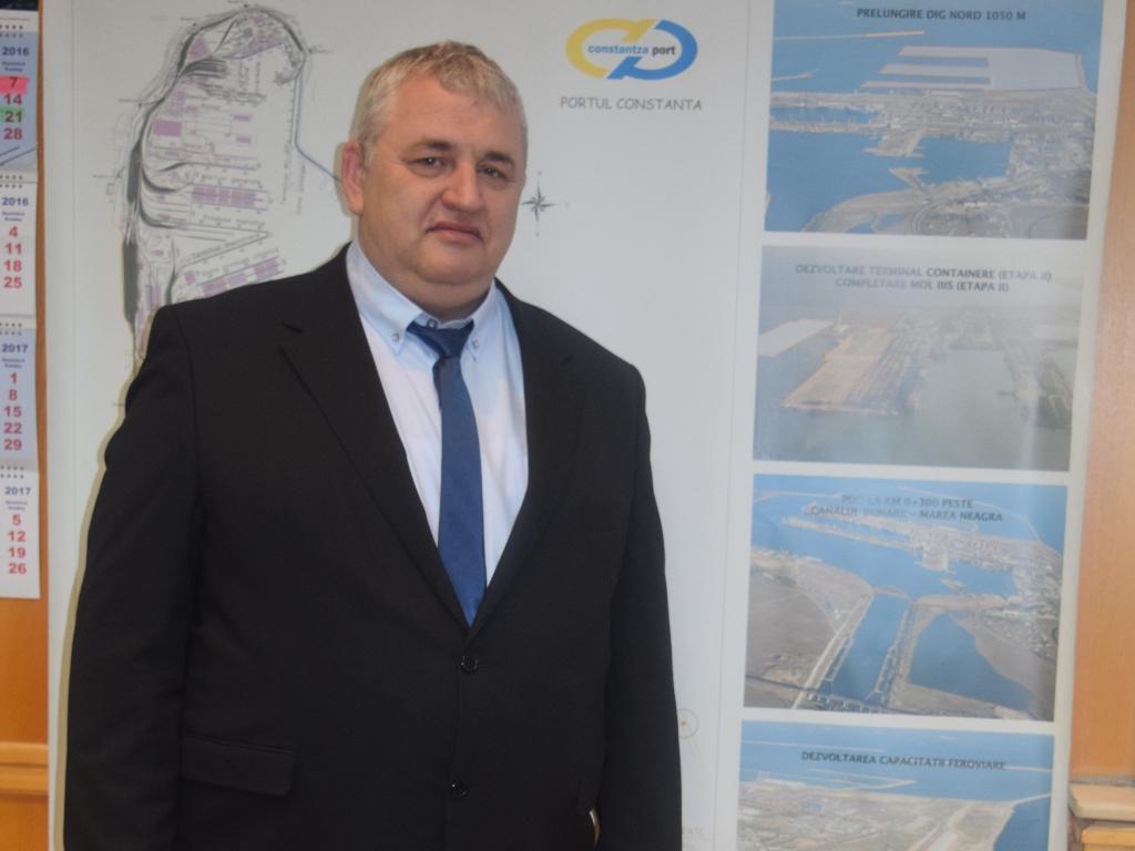 Dan Nicolae Tivilichi, Generaldirektor des Hafens Konstanza