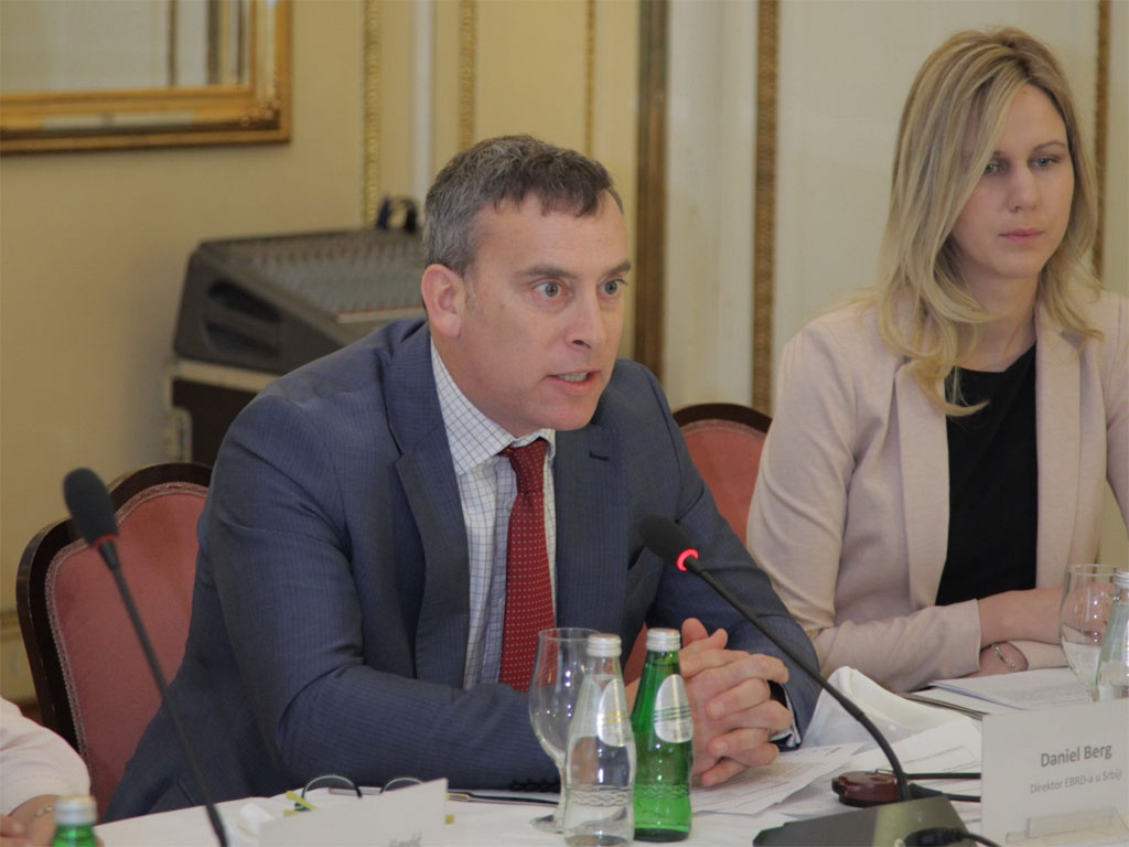 Danijel Berg, direktor EBRD za Srbiju - Srbija bi mogla da bude lider u inovacijama