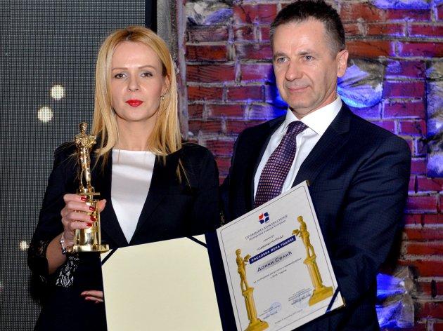 Danka Selić, direktorka Beogradskog sajma, na dodeli priznanja