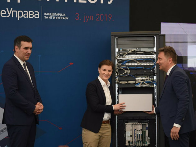 The beginning of the construction of the Data Center in Kragujevac