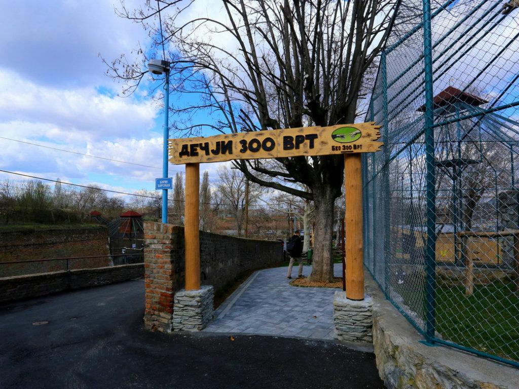 U Beogradu otvoren Dečji zoo vrt - Mališanima na raspolaganju i novo igralište i avantura park