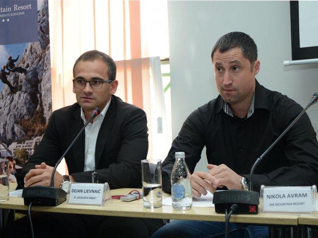 Dejan Ljevnaić und Nikola Avram