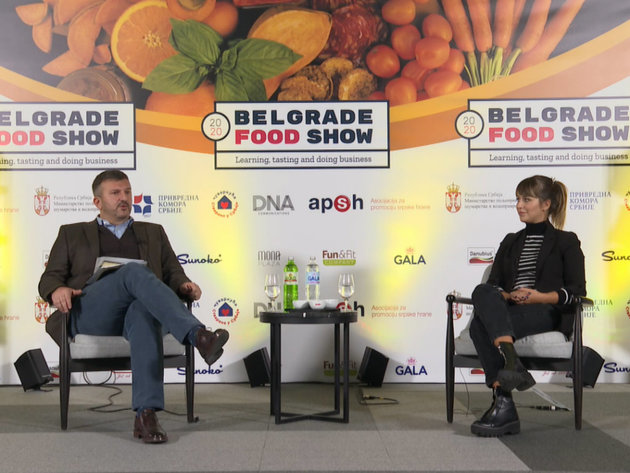 Dejan Ranđić i Anja Vučetić - panel Onlajn prodaja hrane