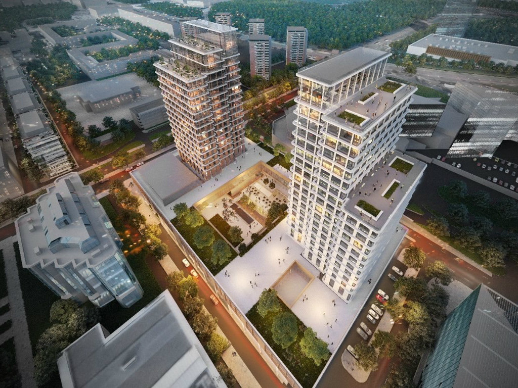 Hotel InterContinental, offices, shopping and restaurants – Here's what EUR 130 million Delta Center New Belgrade will look like