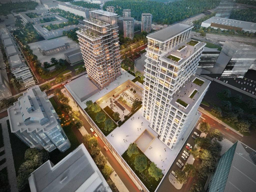 Hotel InterContinental, kancelarije, šoping i restorani - Evo kako će izgledati Delta Centar na Novom Beogradu vredan 130 mil EUR (FOTO)