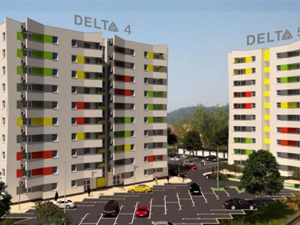 Delta kvart sa skoro 150 stanova niče u Lukavcu