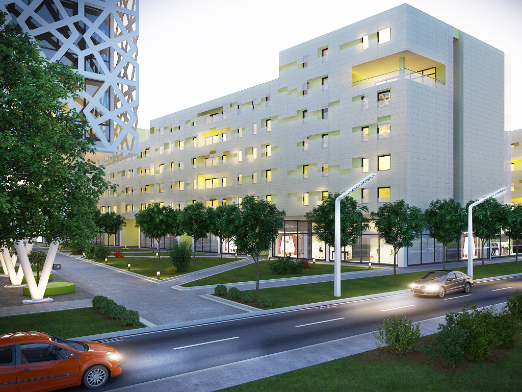 "260 flats and hotel to be built in Leskovac - ""Delta Real Estate"" is building residential and business complex totaling EUR 18,6 m (PHOTO)"
