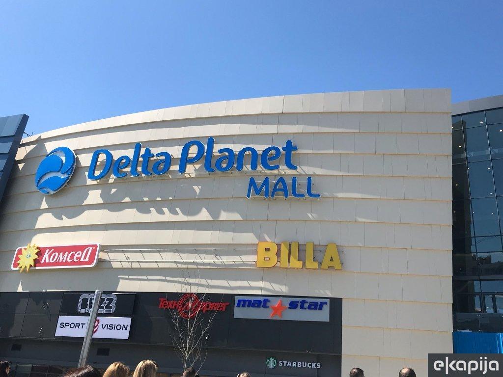 U Varni otvoren šoping mol Delta Planet - Kompanije Delta Real Estate i AP investment uložile 120 mil EUR