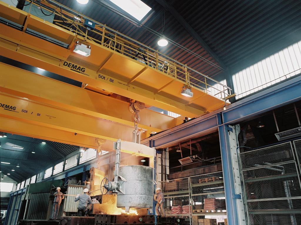 Potpuna automatizacija kranova postaje standard u Industriji 4.0 - Demag Cranes and Components razvio sistem daljinskog nadzora vertikalnog transporta u realnom vremenu