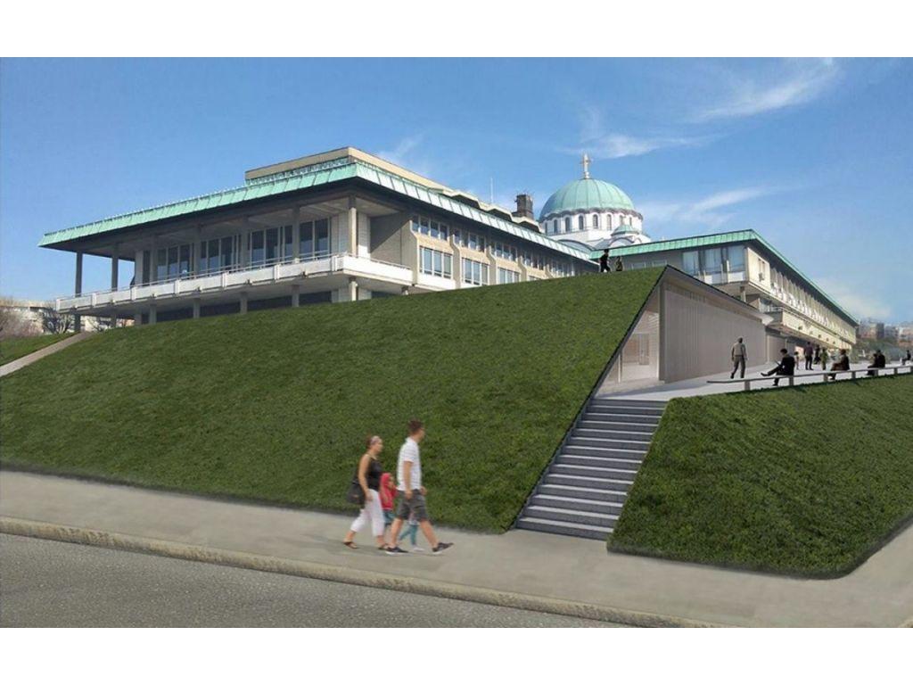 MITarh iz Beograda nagrađen prvom nagradom za idejno rešenje za izgradnju-proširenje postojećeg depoa Narodne biblioteke Srbije u Beogradu (FOTO, VIDEO)