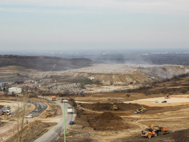 The landfill
