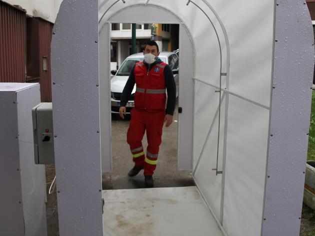 Eastern Mining donirao dezinfekcioni tunel Domu zdravlja u Varešu